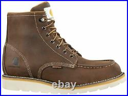 Carhartt CMW6095 Men's 6 Non-Safety Toe Wedge Leather Fast Dry Work Boots Shoes