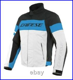 DAINESE SAETTA D-DRY WATERPROOF TEXTILE MOTORCYCLE JACKET 38 Chest