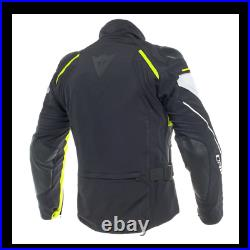 Dainese Rain Master D Dry Textile Motorcycle Jacket Mens Black / Grey / Fluo