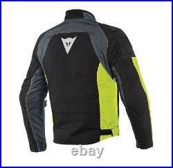 Dainese Speed Master D Dry Textile Motorcycle Jacket Mens Black / Fluo