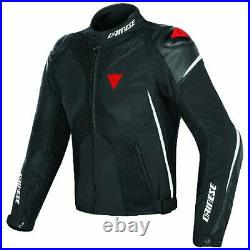 Dainese Super Rider D-Dry Black White Red Motorcycle Jacket New! Free Ship