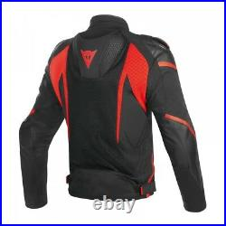 Dainese Super Rider D-Dry Jacket-Fluro Red or Black White Red
