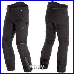 Dainese Tempest 2 D-Dry Motorcycle Textile Waterproof Trousers Pants Black