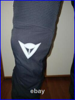 Dainese trousers D-dry D-stormer avaible on size 48 size 52
