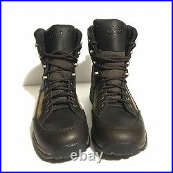 Danner Recurve Dry 7 Waterproof Brown Full Grain and Suede Boots Mens Size 10
