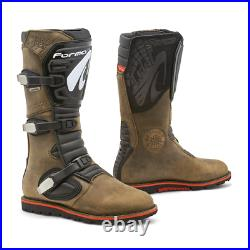 Forma Boulder Dry Brown Trials Boots + Free Socks