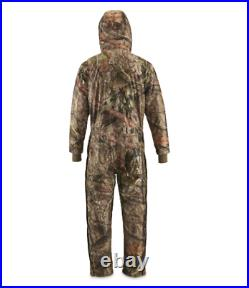 Men's Guide Dry Breathable Waterproof Insulated Hunting Coveralls NEW