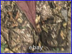 Mens CABELAS 3XL Dry Plus Mossy Oak Camouflage Hunting Jacket With Liner
