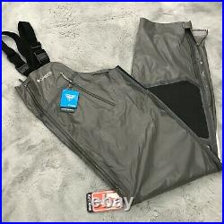 New Columbia PFG Force XII ODX Bib Foul Weather Out Dry Extreme Mens Size XL