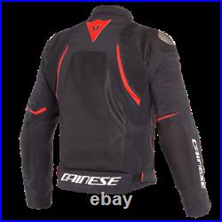 New Dainese Dinamica Air D-Dry Jacket Men's EU 56 Black/Red #20165461268456