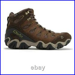 Oboz Mens Sawtooth Mid B-DRY Walking Shoes Brown Sports Outdoors Waterproof