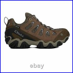 Oboz Womens Sawtooth Low B-DRY Walking Shoes Black Brown Sports Outdoors