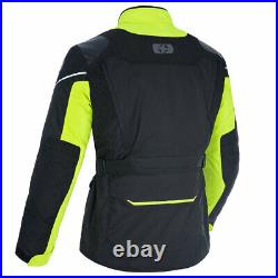 Oxford Montreal 4.0 Dry2Dry Motorcycle Textile Jacket Black / Fluo Yellow