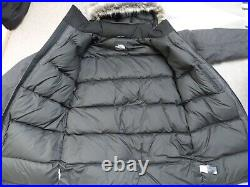 THE NORTH FACE McMURDO Dry Vent Down insulated fur MEN'S PARKA COAT S/Person