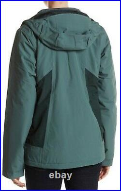 The North Face Women's Large Balsam Green High and Dry Triclimate Jacket NEW